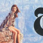 Karlie Kloss T Mag Travel Winter Cover!