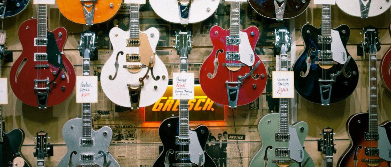 music shops